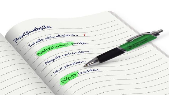 Gute Inhalte sorgen für neue Patienten - wenn sie aktuell bleiben